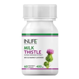 INLIFE Milk Thistle,  60 veggie capsule(s)