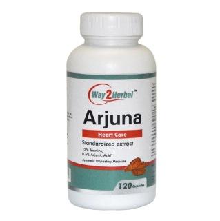 Way2Herbal Arjuna,  120 capsules