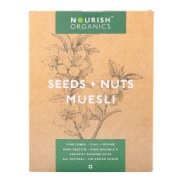 Nourish Organics Seeds & Nuts Muesli,  Unflavoured  0.3 kg