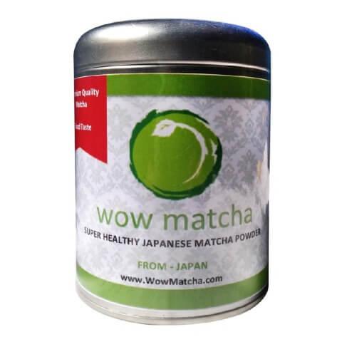 Wow Matcha Premium Grade Matcha Powder,  100 g  Natural
