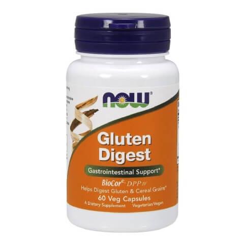 Now Gluten Digest,  60 capsules