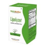 NutroActive Lipolyzer Herbal Slimming Tea,  100 g  Natural