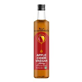 NourishVitals Apple Cider Vinegar with Mother,  0.250 L  Honey