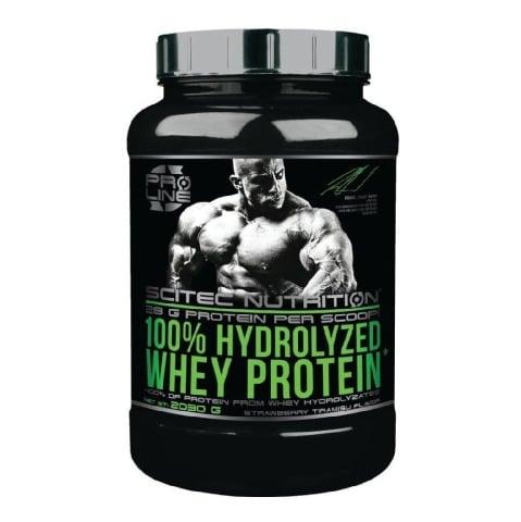 Scitec Nutrition 100% Hydrolyzed Whey Protein,  4.4 lb  Strawberry Tiramisu