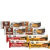 Hyp Sugar Free Protein Bar Pack,  8 Piece(s)/Pack  (Peanut Butter & Chocolate + Almond Fudge + Oats & Peanut Brownie + Chocolate Espresso)