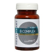 HealthKart B Complex,  Unflavoured  60 capsules