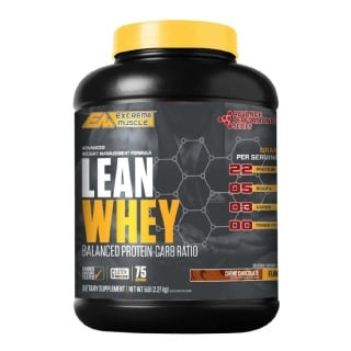 Extreme Muscle Advance Performance Series Lean Whey,  5 lb  Creme Chocolate