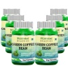 Morpheme Remedies Green Coffee Bean Extract (500 mg) Pack of 6,  60 capsules