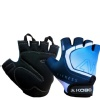 KOBO Gym Gloves (WTG-20),  Blue & Black  Medium