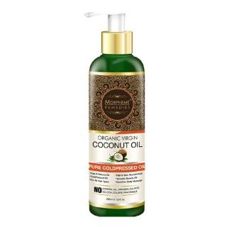 Morpheme Remedies Organic Virgin Coconut Oil,  200 ml  for All Hair Types