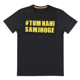 MuscleBlaze Tum Nahi Samjhoge T-Shirt,  Assorted  Free Size