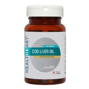 HealthKart Cod Liver Oil,  60 capsules