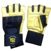 Rocclo Weight Lifting Gloves-5110,  Yellow & Black  XL