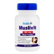 Healthvit Muslivit Musli Powder (250mg),  60 capsules