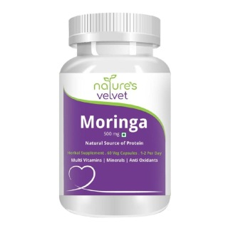 Natures Velvet Moringa Leaf Pure Extract (500mg)