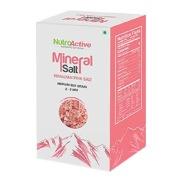 NutroActive Mineral Salt Himalayan Pink Medium Size Grain,  454 g