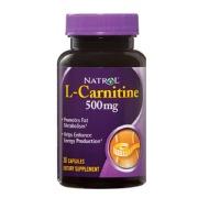 Natrol L- Carnitine,  30 capsules  Unflavoured