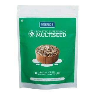 Keeros Multiseed Roasted Supersnack,  Slightly Sweet  0.250 kg