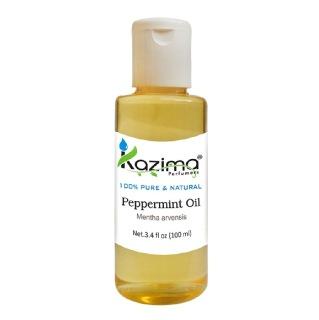 Kazima Peppermint Oil,  100 ml  100% Pure & Natural