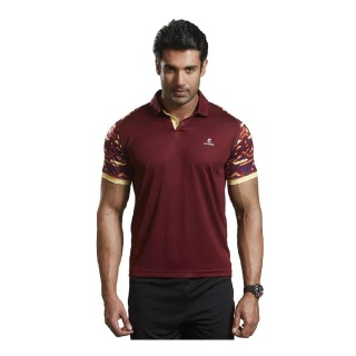 Omtex Active Wear T-Shirts - 1603,  Maroon  Small