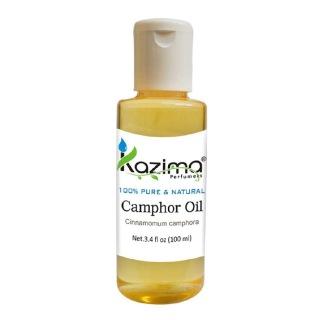 Kazima Camphor Oil,  100 ml  100% Pure & Natural