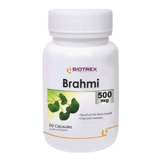 Biotrex Brahmi (500 mg),  60 capsules