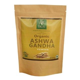 Truu Organic Ashwagandha Powder,  0.100 kg