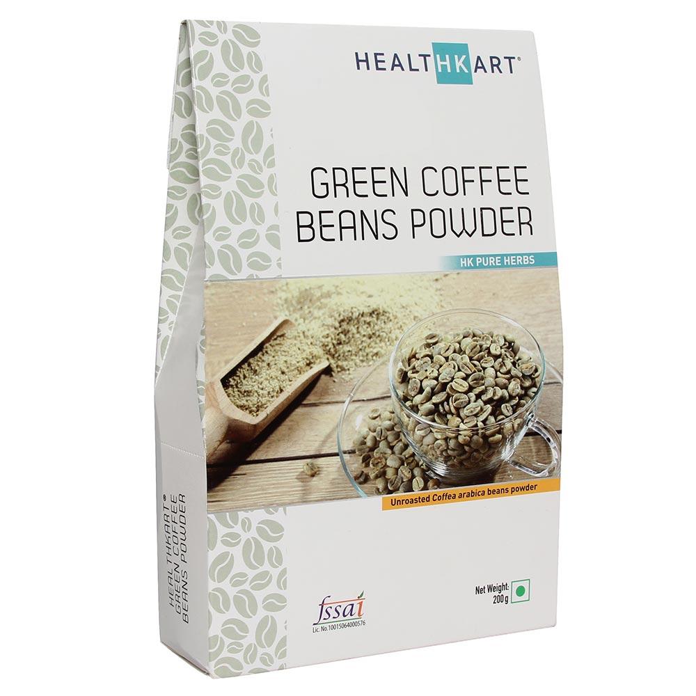 HealthKart Green Coffee Bean Powder,  0.2 kg