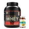 HealthKart Ultra Omega 3 & ON (Optimum Nutrition) Gold Standard 100% Whey Protein Combo