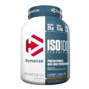 Dymatize Iso-100 Protein,  3 lb  Gourmet Chocolate