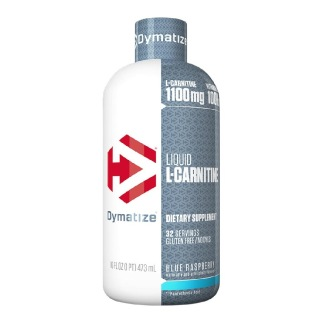 Dymatize L-Carnitine Liquid,  0.473 ml  Blue Raspberry