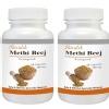 Shivalik Herbals Methi Beej (Fenugreek- Trigonella Foenum-Graecum),  120 capsules