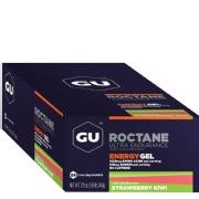 GU Roctane Energy Gel,  24 Piece(s)/Pack  Strawberry Kiwi