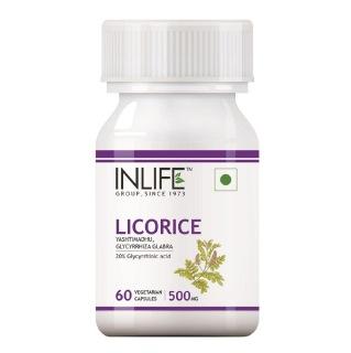 INLIFE Licorice,  60 capsules
