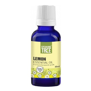 Speaking Tree Lemon Essential Oil,  30 ml  100% Pure & Natural