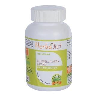 Herbadiet Boswellia Akba Extract,  60 capsules