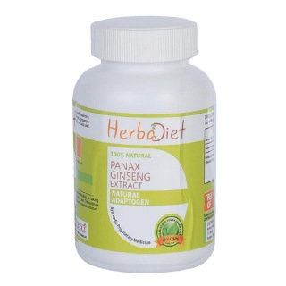 Herbadiet Panax Ginseng Extract,  60 capsules