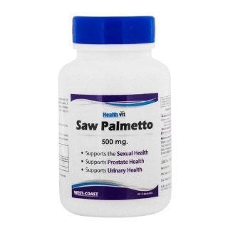 Healthvit Saw Palmetto (500 mg),  60 capsules