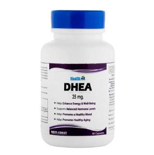 Healthvit DHEA (25 mg),  60 capsules