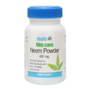 Healthvit Neem Care Neem Powder (400mg),  60 capsules