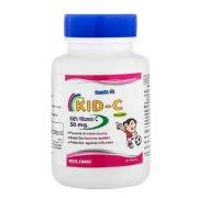 Healthvit Kid- C Kid's Vitamin C Chewable,  60 tablet(s)  Unflavoured
