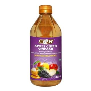 N2H Apple Cider Vinegar,  0.5 L  Grapes & Honey