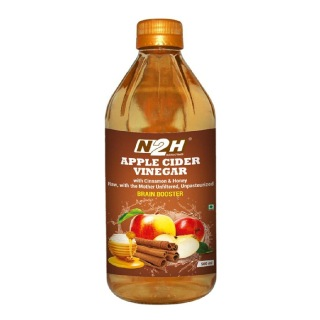 N2H Apple Cider Vinegar,  0.5 L  Cinnamon & Honey
