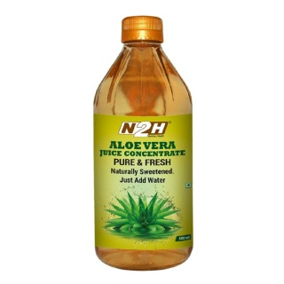 N2H Aloe Vera Juice Concentrate,  Unflavoured  0.5 L