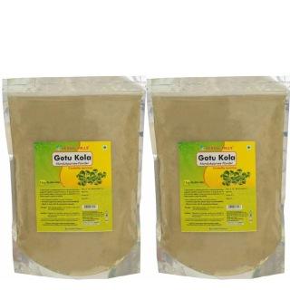 Herbal Hills Gotu Kola Powder Pack of 2,  1 kg