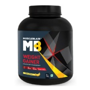MuscleBlaze Weight Gainer with Added Digezyme,  6.6 lb  Banana