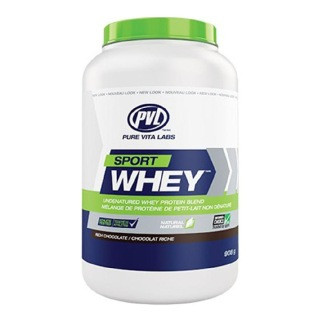 PVL Sport Whey,  2 lb  Rich Chocolate