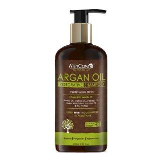 Wishcare Argan Oil Restorative Shampoo,  300 ml  for All Hair Types