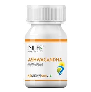 INLIFE Ashwagandha (500 mg),  60 veggie capsule(s)