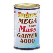Endura Mega Lean Mass Gainer 4000,  1.1 lb  Unflavoured